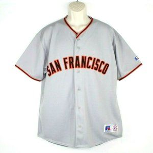 Vintage Russell Mens Athletic MLB SF Giants Jersey